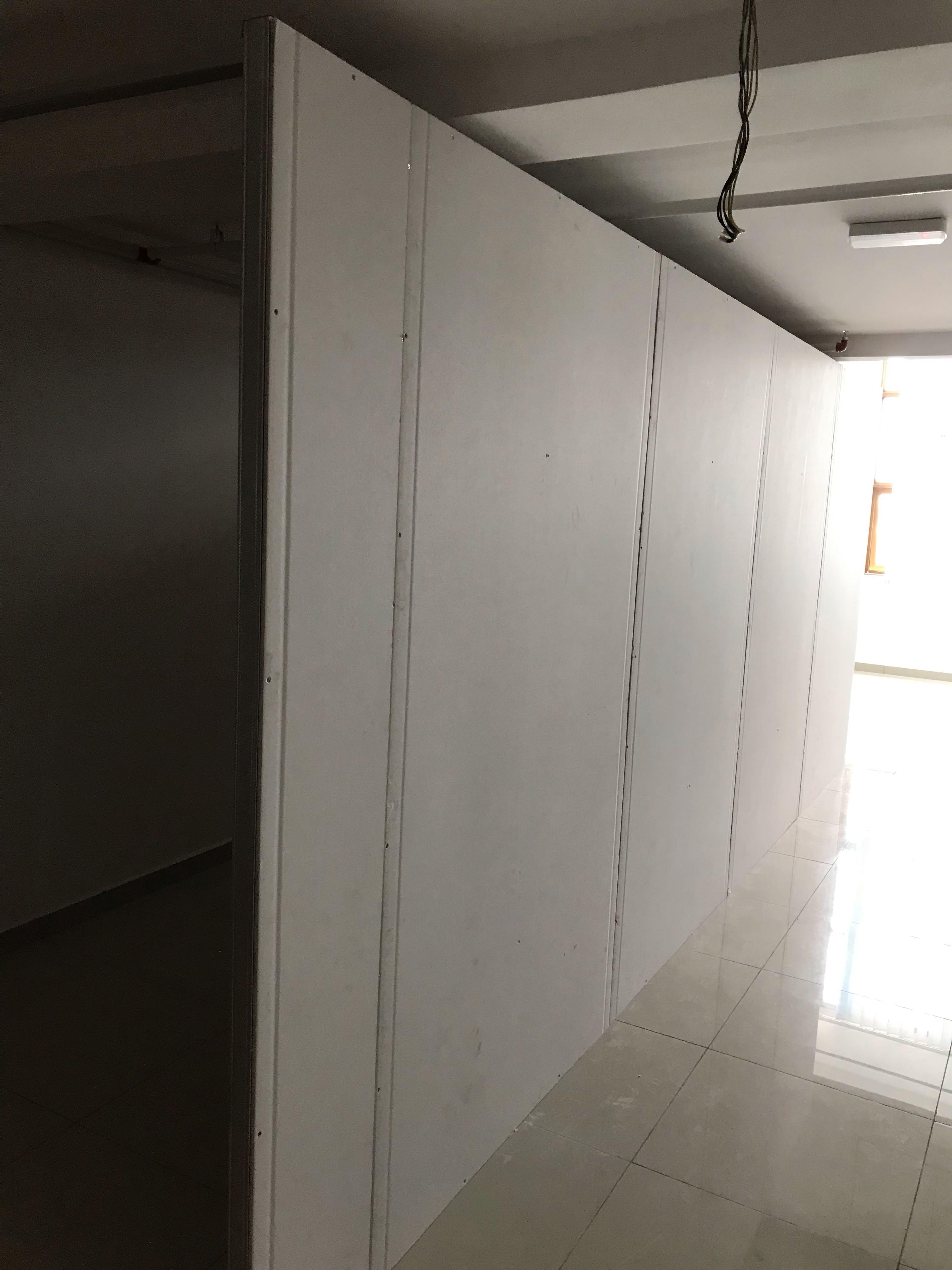 Partition Drywall Gypsum Untuk SOHO, SOFO, Condominium, Studio