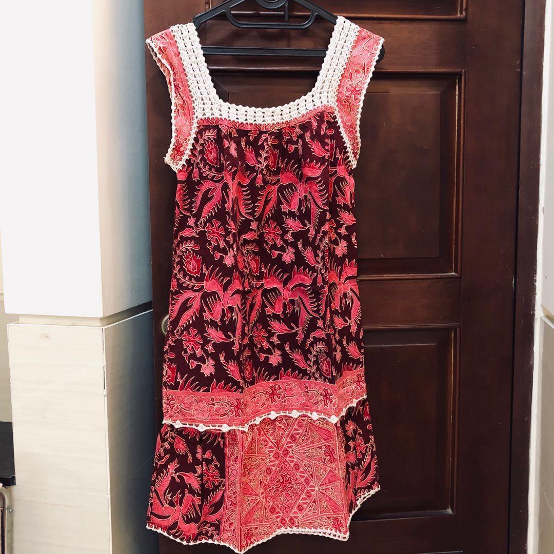 Preloved pretty batik daster💕