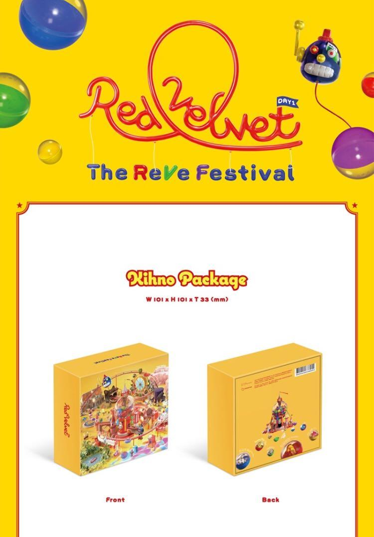 🌺Red Velvet🌺'The ReVe Festival' Day 1 ‼️Kihno Edition‼️