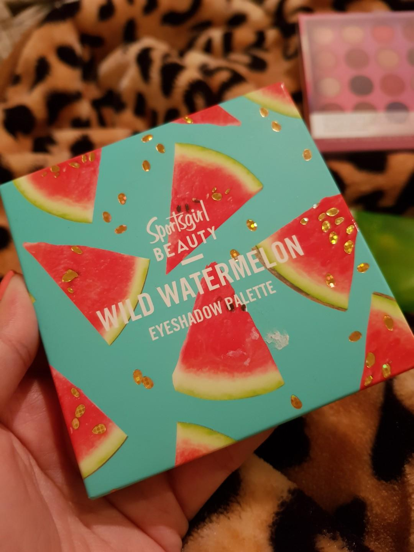 Sports Girl Beauty Wild Watermelon Eyeshadow Palette