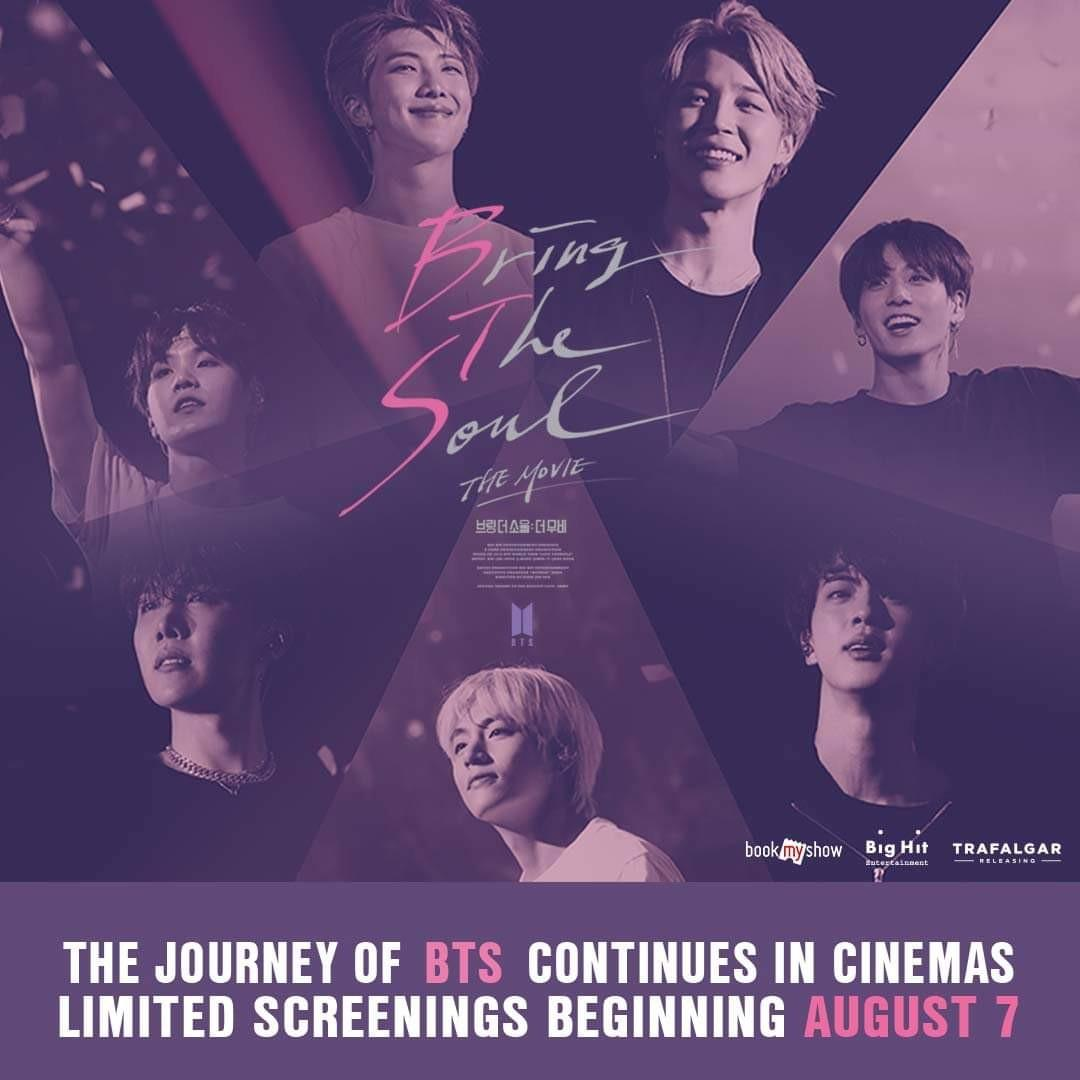 [TGV] BTS Bring The Soul The Movie Online Ticketing Service (3rd July, 2019) -ENDED-