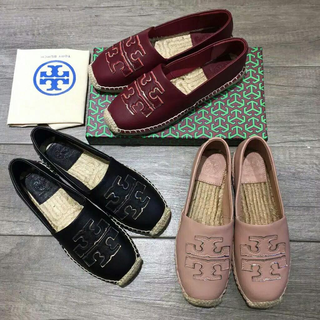 Tory Burch Shoes kenzo flatshoes wedges earrings tshirt jaket kemeja kalung
