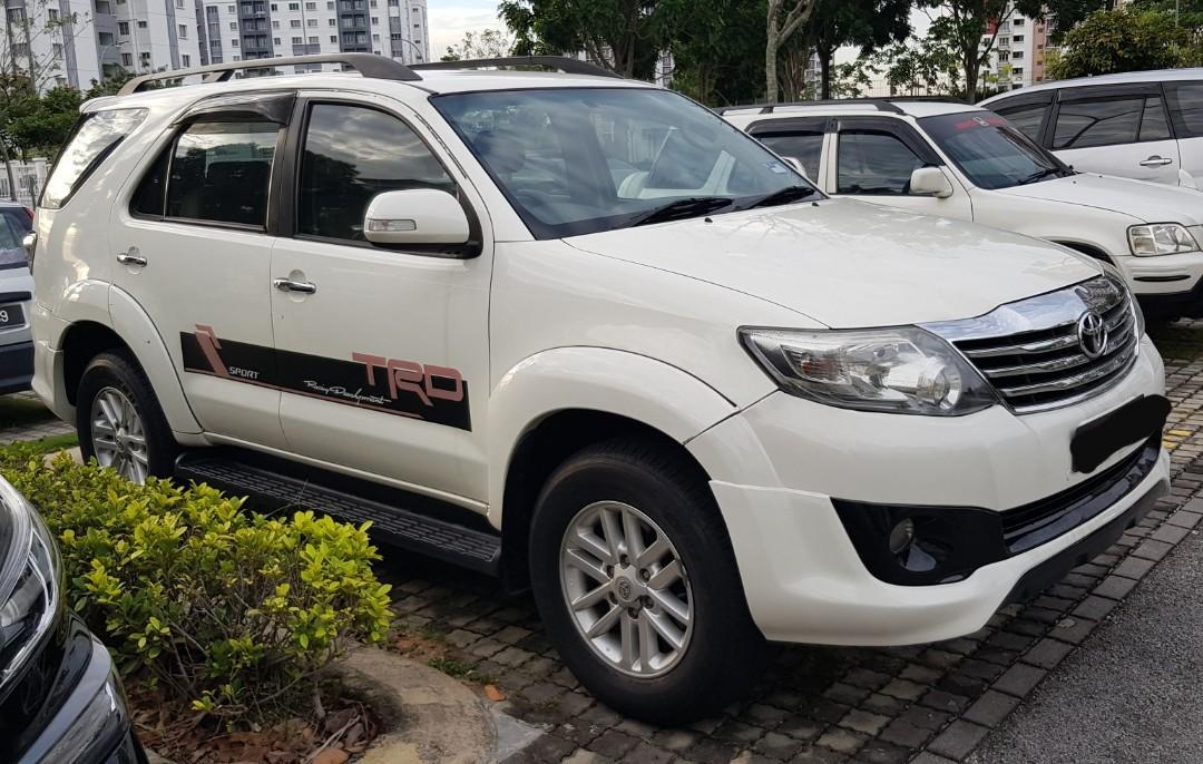 Toyota Fortuner Kereta Sewa Murah Setia Alam CALL 0199967225 www.keretasewakl.my