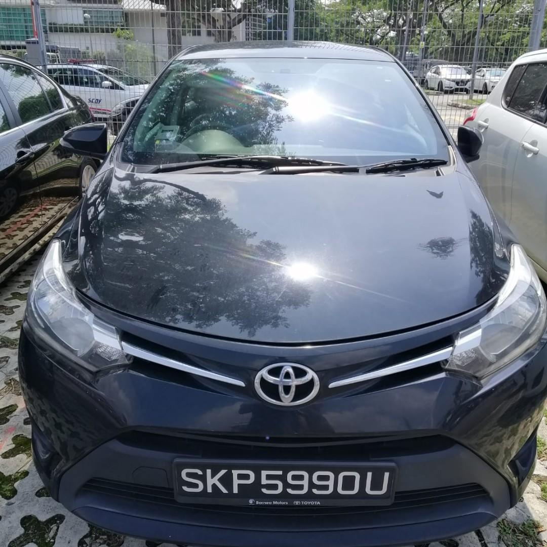 Toyota Vios for rental , Phv usage from $400 weekly only. Gojek rebates $150.Contact us at 88115335/90998833