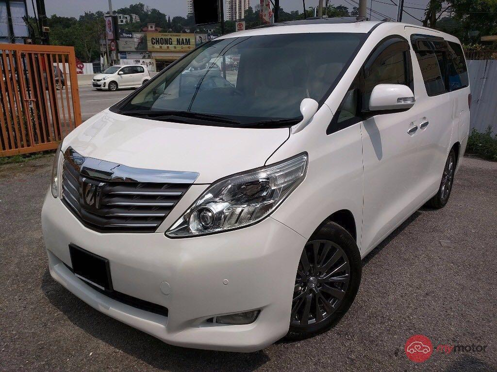 Toyota Wish Transport service