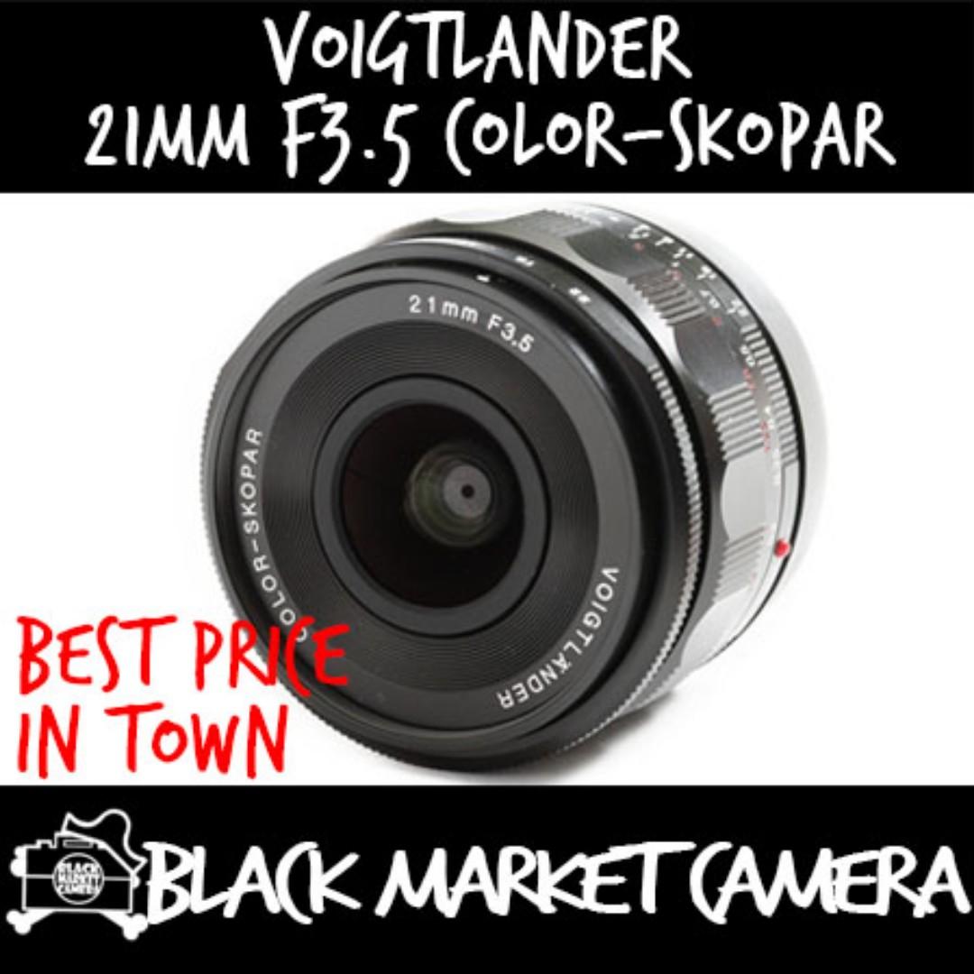 Voigtlander Color-Skopar 21mm f/3 5 Aspherical Lens Leica M Mount