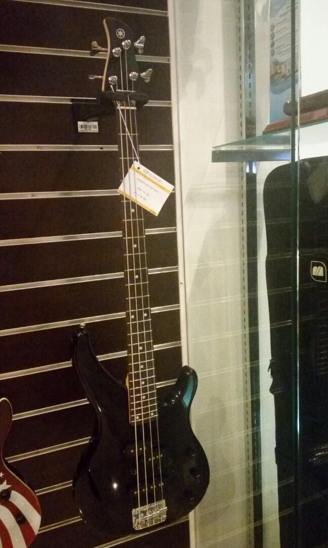 Yamaha elektrik bass dicicil tanpa cc