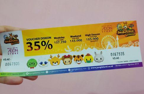 Tiket Discount Masuk Jungle Land