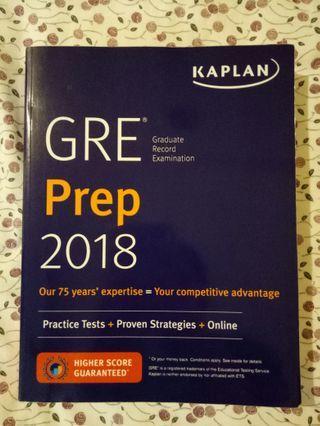 GRE REVISION PREP book
