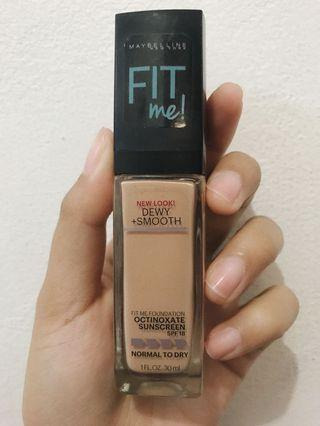Maybelline Fit Me Foundation Dewy Finish