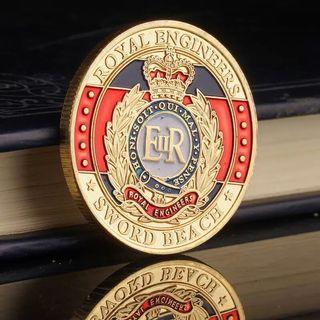 Royal engineer英國 皇家工程部隊紀念幣一個