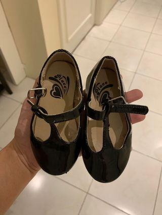 Baby black shoes