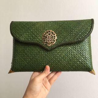 Clutch bag Pandan