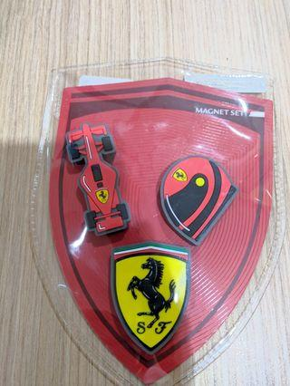 Original Ferrari Magnet Set ( 3 Pcs)