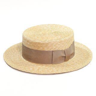 CA4LA - OLD NEW WIDE / boater hat 平頂 草帽 beams kapital THE HW DOG&CO. vintage