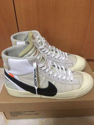 The 10: Off-White Nike Blazer Mid OG