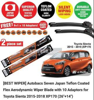 Wiper Blade for Toyota Sienta