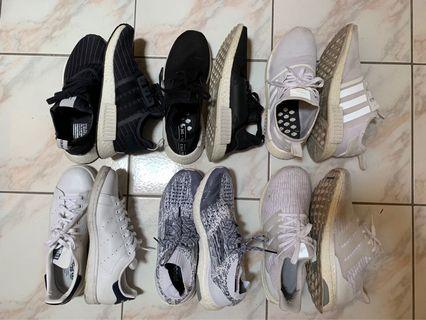 Nike and Adidas Sneakers (SZ10)
