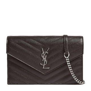 YSL Wallet on chain woc 袋 手袋 鍊 鏈