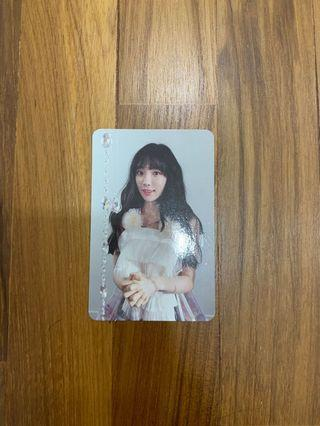 Taeyeon This Christmas Official Photocard