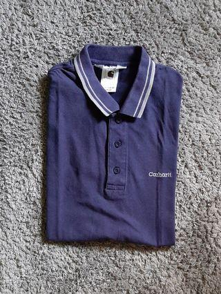 Carhartt twin tipped polo shirt