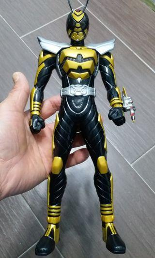 幪面超人  黃蜂大膠公仔  12寸高