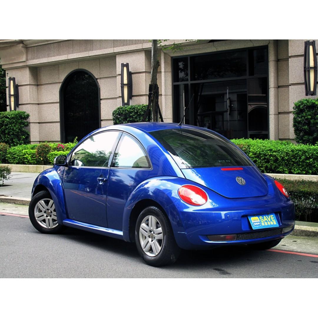 06年 福斯 Beetie 1.6 一手車 跑八萬 雙安