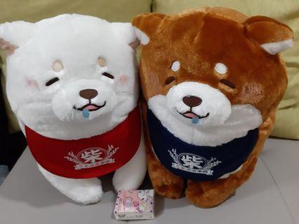 柴犬❤超大隻❤豆柴❤豆太郎❤公仔❤100%全新,日本直送,有吊牌。