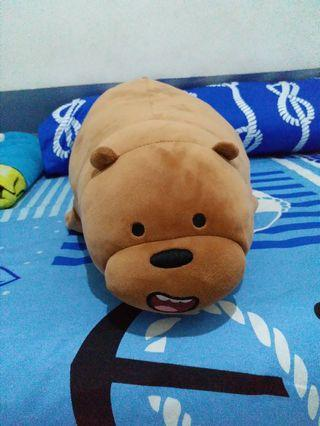Boneka We Bare Bears Grizzly
