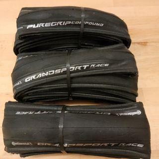 Continental Grand Sport Race 700x25C fold tire