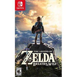 🚚 Zelda Breath Of The Wild (WTT/WTS)