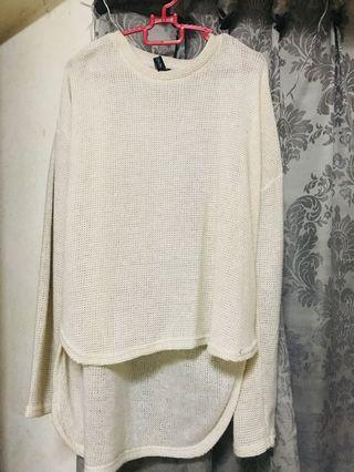 Knitted Cream Blouse