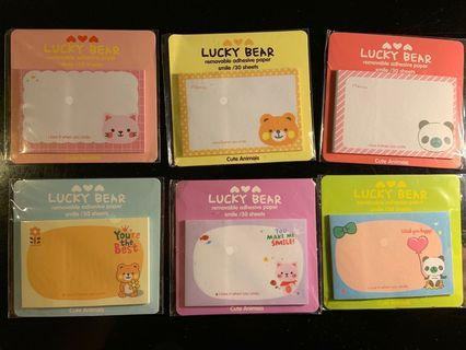 🚚 Small Cute Sticky Notes
