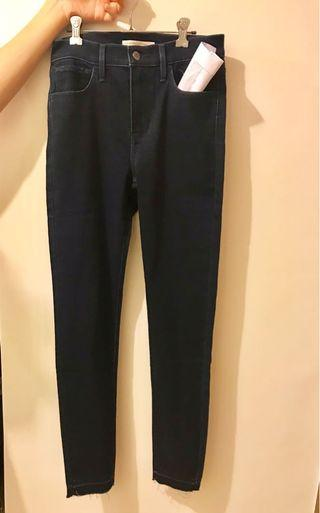 Levis 720 high rise super skinny waist 27