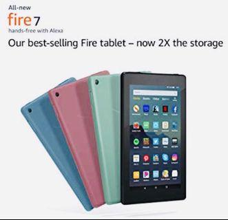 NEW 2019 Amazon Fire 7 Tablet 9th Gen