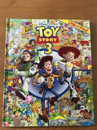 Toy story 3 look and find book