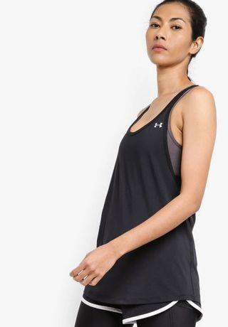 Under Armour 2-in-1 top Small (with built in sports bra)
