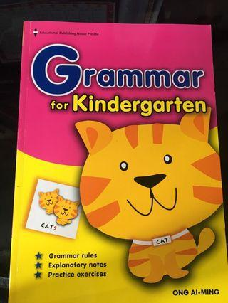 英文補充練習(Grammar for Kindergarten)