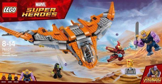 全新靚盒 Lego 76107