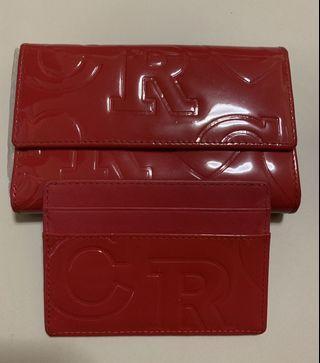 🚚 Wallet and card holder set