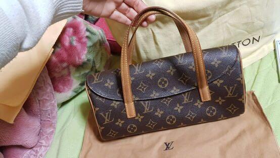 Louis Vuitton Sonatine Monogram Handbag