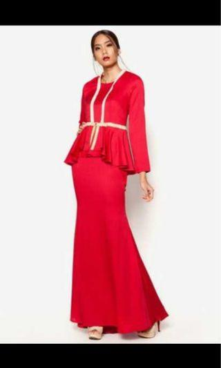 JOVIAN RED DRESS IN M
