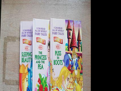Fairy Tales set (3 books for Rm10)