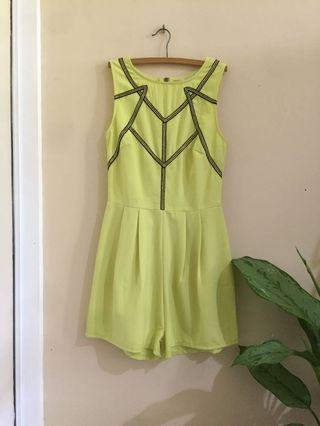 Neon Playsuit