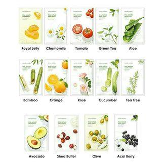 Nature Republic Real Nature Mask Sheet New Packaging