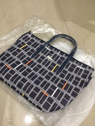 Lacoste navy medium bag - FREE ONGKIR JABODETABEK