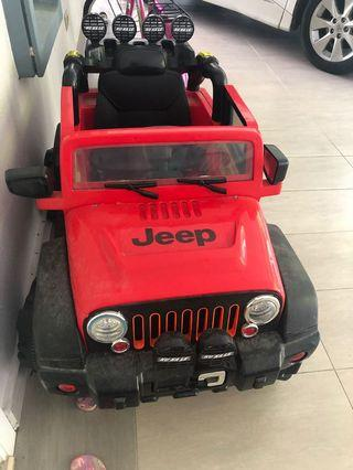 Ride On Car JEEP