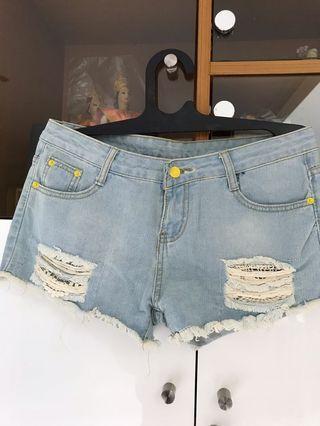 Hotpants Jeans bkk