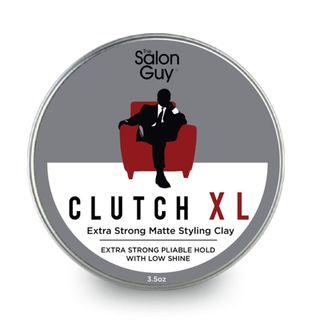 The Salon Guy - Extreme Hold CLUTCH XL Matte Styling Clay 100ml - SG Pomades Mens Grooming