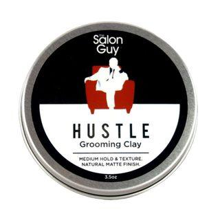 The Salon Guy - HUSTLE Grooming Clay 100ml - SG Pomades Mens Grooming